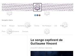 Le songe captivant de Guillaume Vincent