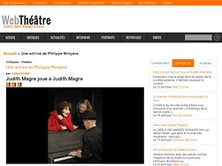 Judith Magre joue à Judith Magre