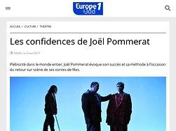 Les confidences de Joël Pommerat