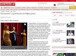 Carcassonne. La performance de l'Opéra junior