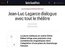 Jean-Luc Lagarce dialogue avec tout le théâtre