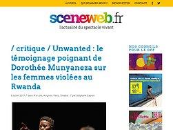 Unwanted : le témoignage poignant de Dorothée Munyaneza sur les femmes violées au Rwanda