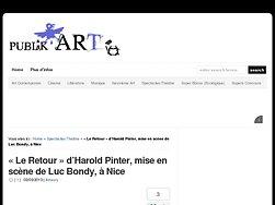 « Le Retour » d'Harold Pinter, mise en scène de Luc Bondy
