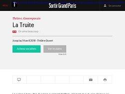 La Truite -Un auteur est là...