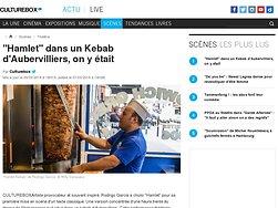 """""""Hamlet"""" dans un Kebab d'Aubervilliers, on y était"""
