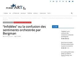 """""""Infidèles"""" ou la confusion des sentiments orchestrée par Bergman"""
