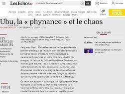 Ubu, la «phynance» et le chaos
