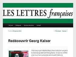 Redécouvrir Georg Kaiser