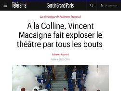 A la Colline, Vincent Macaigne fait exploser le théâtre par tous les bouts
