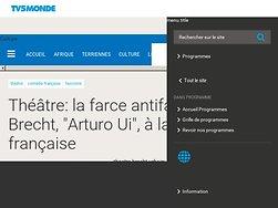 """La farce antifasciste de Brecht, """"Arturo Ui"""", à la Comédie française"""