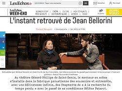 L'instant retrouvé de Jean Bellorini