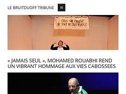 Mohamed Rouabhi rend hommage aux vies cabossées