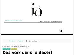 Des voix dans le désert