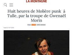 Huit heures de Molière punk