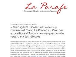 Une question de regard sur les réfugiés