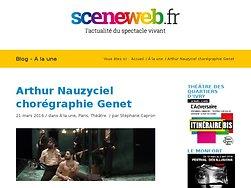 Arthur Nauzyciel chorégraphie Genet