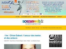 Entretien : Chloé Dabert: l'amour des textes et des acteurs