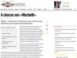 A chacun son «Macbeth»