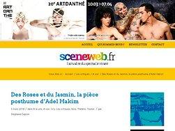 Des Roses et du Jasmin, la pièce posthume d'Adel Hakim
