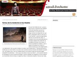 Vertus de la médecine et du théâtre