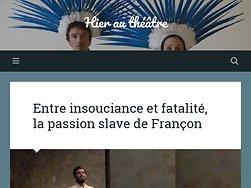 Entre insouciance et fatalité, la passion slave de Françon