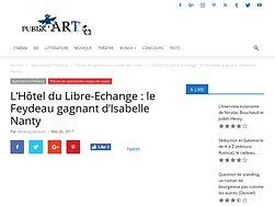 L'Hôtel du Libre-Echange : le Feydeau gagnant d'Isabelle Nanty