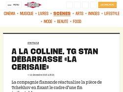 "Tg STAN débarrasse ""La Cerisaie"""
