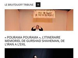« Pourama Pourama », l'itinéraire mémoriel de Gurshad Shaeman, de l'Iran à l'exil