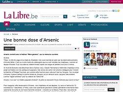 Une bonne dose d'Arsenic