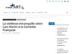 La vieillesse intranquille selon Lars Norén à la Comédie-Française