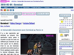 Inénarrable classement avec Germinal au Parvis