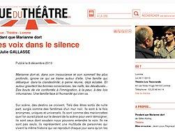 Des voix dans le silence