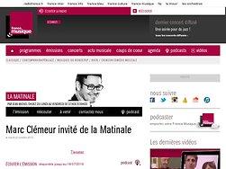 La Matinale - Radio France Musique