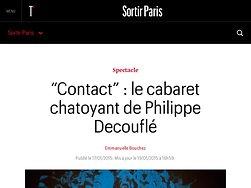 Le cabaret chatoyant de Philippe Decouflé