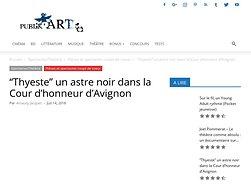 """""""Thyeste"""" un astre noir dans la Cour d'honneur d'Avignon"""