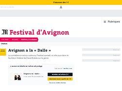 Avignon a la «Dalle»