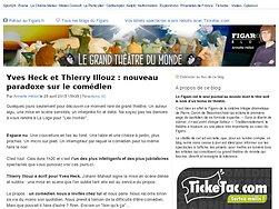 Yves Heck et Thierry Illouz : nouveau paradoxe sur le comédien