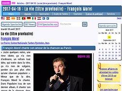 François Morel chante son amour de la chanson au Parvis