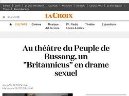 """Au théâtre du Peuple de Bussang, un """"Britannicus"""" en  drame sexuel"""