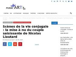 La mise à nu du couple saisissante de Nicolas Liautard