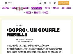 «Sopro», un souffle rebelle