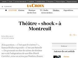 Théâtre « shock » à Montreuil