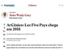Les Five Pays chega em 2018
