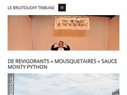 """De revigorants """"Mousquetaires"""" sauce Monty Python"""