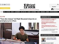 """""""Tous des oiseaux"""" de Wajdi Mouawad remporte un prestigieux prix à Paris"""