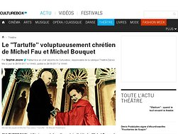 """Le """"Tartuffe"""" voluptueusement chrétien de Michel Fau et Michel Bouquet"""