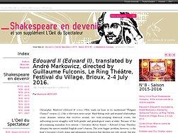 Edouard II (Edward II)