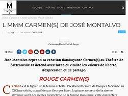 Rouge Carmen(s)