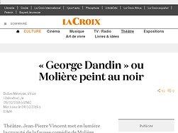 « George Dandin » ou Molière peint au noir