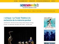 Le Turak Théâtre à la recherche de la mémoire perdue